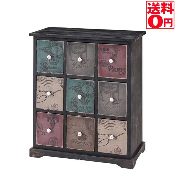 【送料無料】 モネシリーズ Monet チェスト3×3杯 IW-990