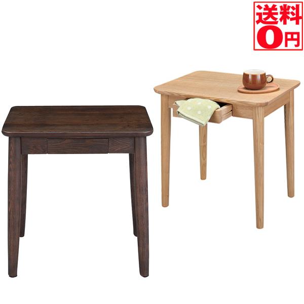 【送料無料】 サイドテーブル HOT-334 BR/NA