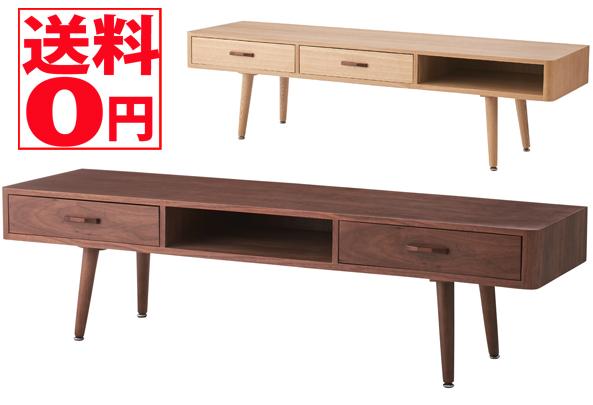 【送料無料】 天然木 TVボード NA/WAL NYT-784