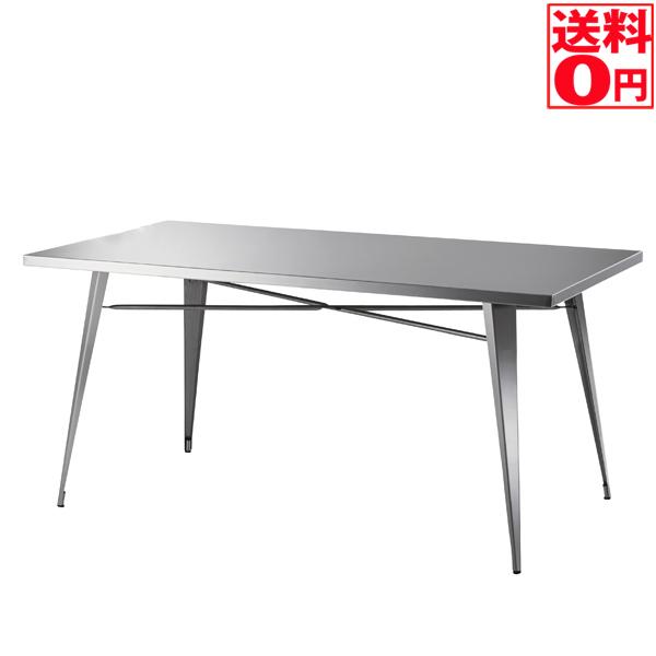 入荷しました!!【送料無料】 ステンレスファニチャー ダイニングテーブル STN-334