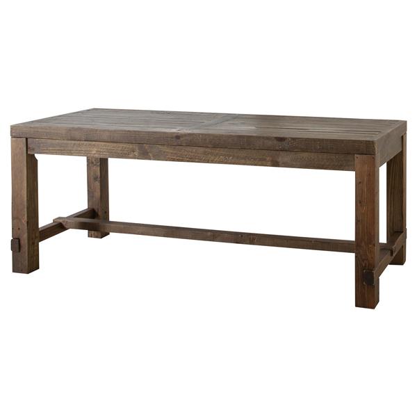 【別途実費追加送料】【ウッドファニチャー】 CARAVAN・キャラバン ダイニングテーブル 幅180cm WE-312