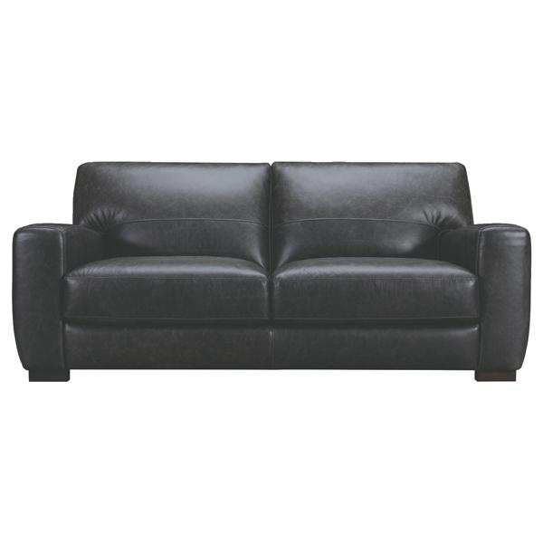 【Luxury Sofa】 ベガソファー 本革 幅200cm WE-55WBK