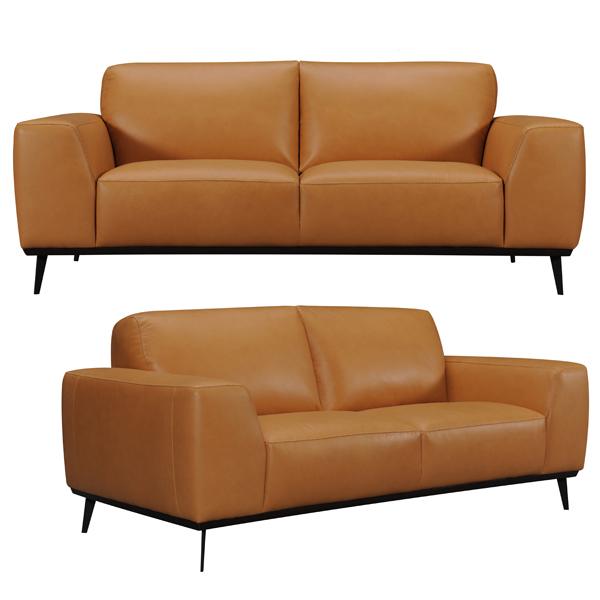 【Luxury Sofa】 マスターソファ 本革 幅200cm WE-902