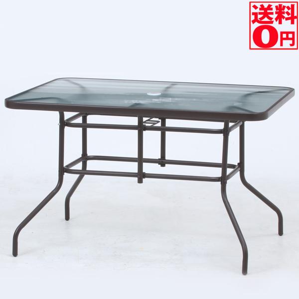【送料無料】 ガラステーブル W120 37293