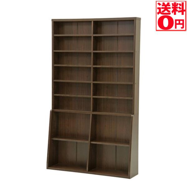 【送料無料】大容量ブックシェルフ BK-1220 書棚 67767