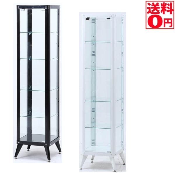 【送料無料】 コレクションケース5段 ブラック/ホワイト 98840・98841