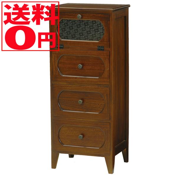 【送料無料】 Wood Products チェスト(ブラウン) MCH-5184BR