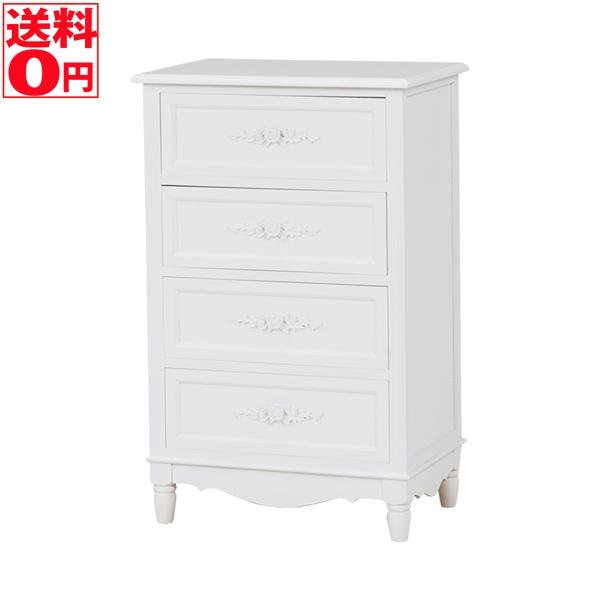 【送料無料】 Wood Product チェスト(ホワイト) MCH-8190WH