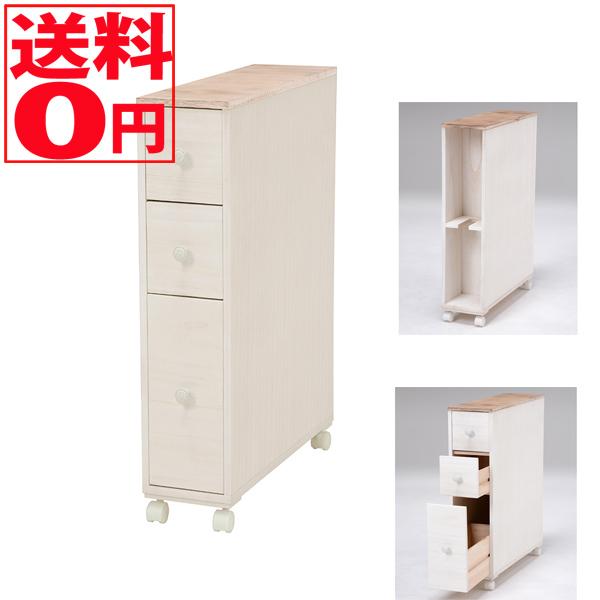 【送料無料】 ブロカントシリーズ トイレラック (ホワイト) MTR-6450WH