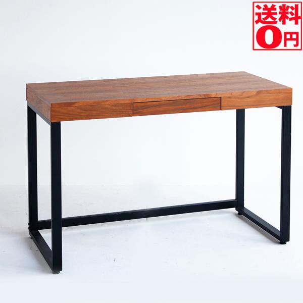 【送料無料】 Walnut Desk ウォールナットデスク 幅120cm T-2314BR