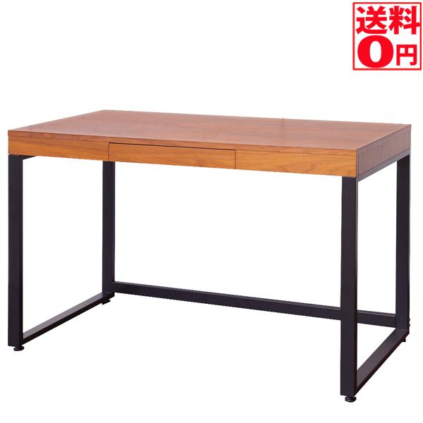 【送料無料】 Walnut Desk ウォールナットデスク 幅110cm T-2546BR 次回は6月中旬入荷!!