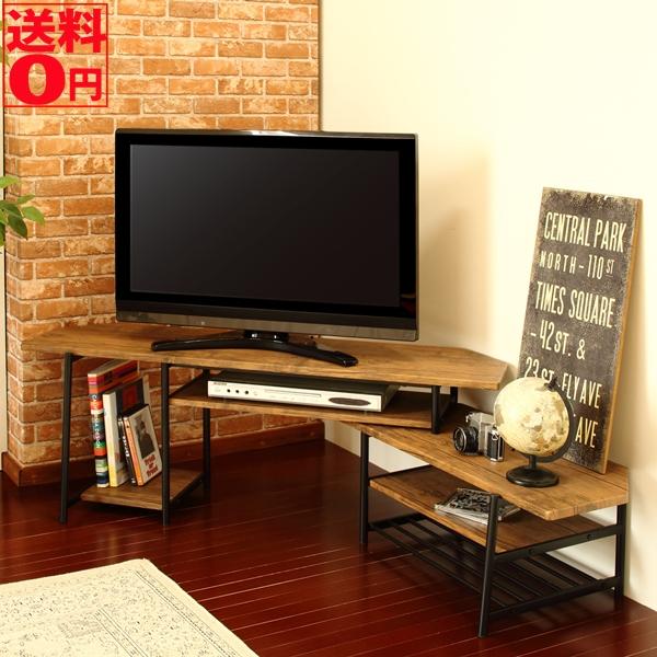【送料無料】 インダストリアル・デザイン VITA ヴィータシリーズ スライドTVボード (幅120~171cm) TVS-B120(BR)