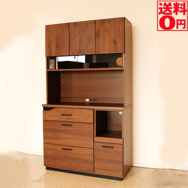 【送料無料】 QUATRO(クアトロ)  キッチンボード 幅105cm 国産 50560910 【大型商品 日時指定不可】