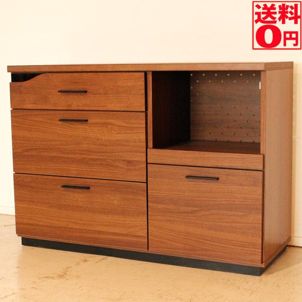 【送料無料】 QUATRO(クアトロ) キッチンカウンター 幅120cm 国産 50560920 【大型商品 日時指定不可】