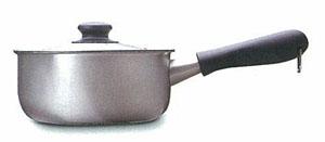 柳宗理ステンレス片手鍋18cm つや消し 蓋付き
