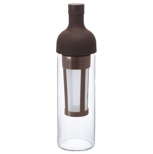 初売り ワインボトル型の水出しコーヒーボトル HARIO ハリオ フィルターインコーヒーボトル ブラウンFIC-70-CBR SEAL限定商品