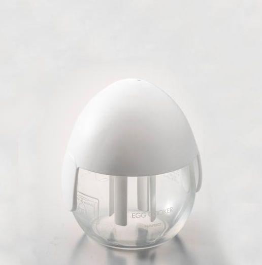 毎日つかえるエッグクッカー [宅送] HARIO 人気の製品 ハリオ ホワイトXEC-M-W エッグクッカー