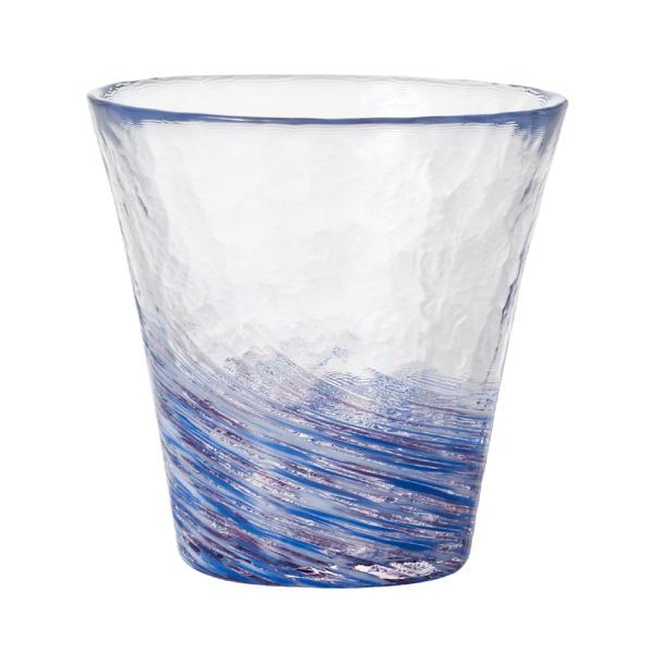 未使用 日本の伝統色を12色の美しい色ガラスで表現しました アデリア 津軽びいどろ 12色のグラス 最安値 藤 F-71454 ふじ