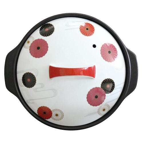 【正規品】 サーマテックIH土鍋 レトロ・マム 9号7223-0470, ファーストコンタクト 4fd4c5da