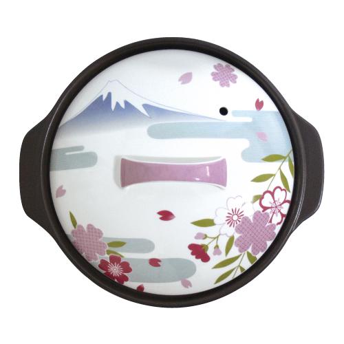 サーマテックIH土鍋 フジヤマ 9号7223-0530