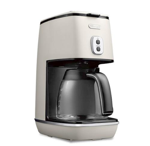 【送料無料】デロンギ ディスティンタコレクション ドリップコーヒーメーカー ピュアホワイトICMI011J-W【デロンギ・DeLonghi】コーヒーメーカー