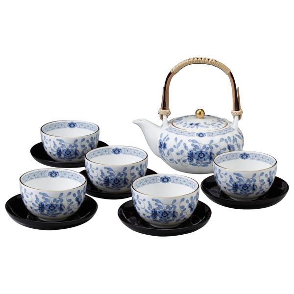 【送料無料】ナルミ(NARUMI) ミラノ 茶器揃い(茶たく付)9682-23031