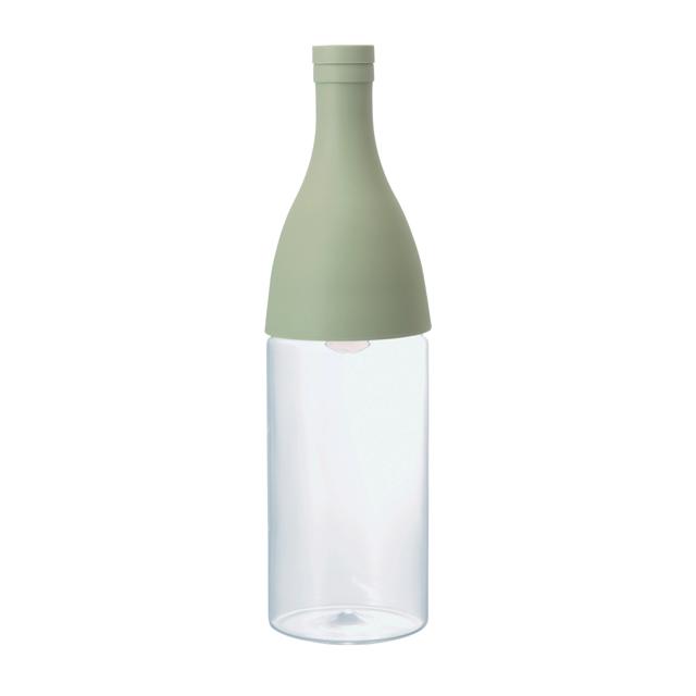シャンパンボトル型の水出し茶ボトル☆ 毎日激安特売で 営業中です HARIO ハリオ グリーンFIE-80-SG エーヌ 上質 フィルターインボトル