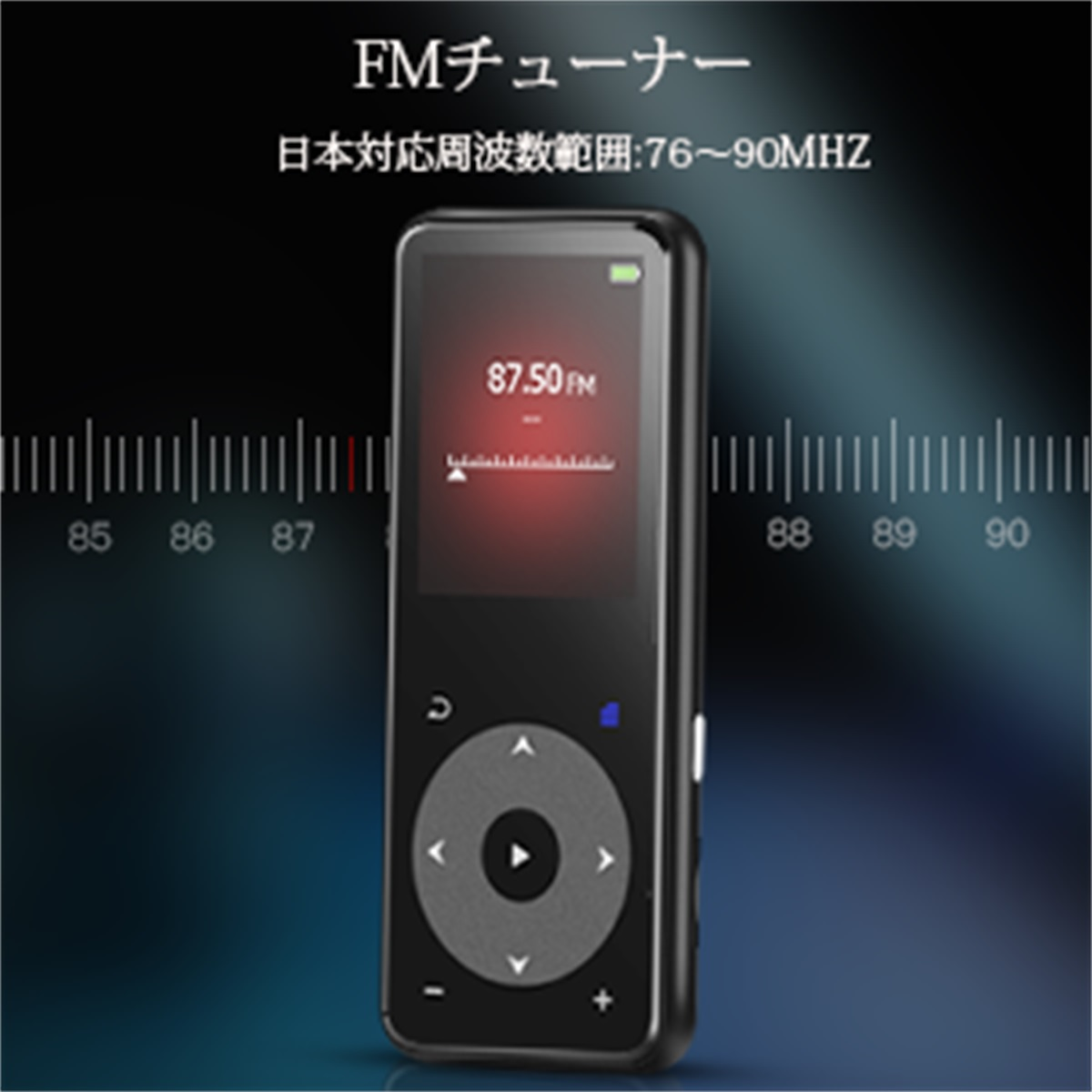 AGPTEK music player MP3 player MP3 player digital audio player bluetooth  deployment Hi-Fi lossless sound quality product made in shining touch  button