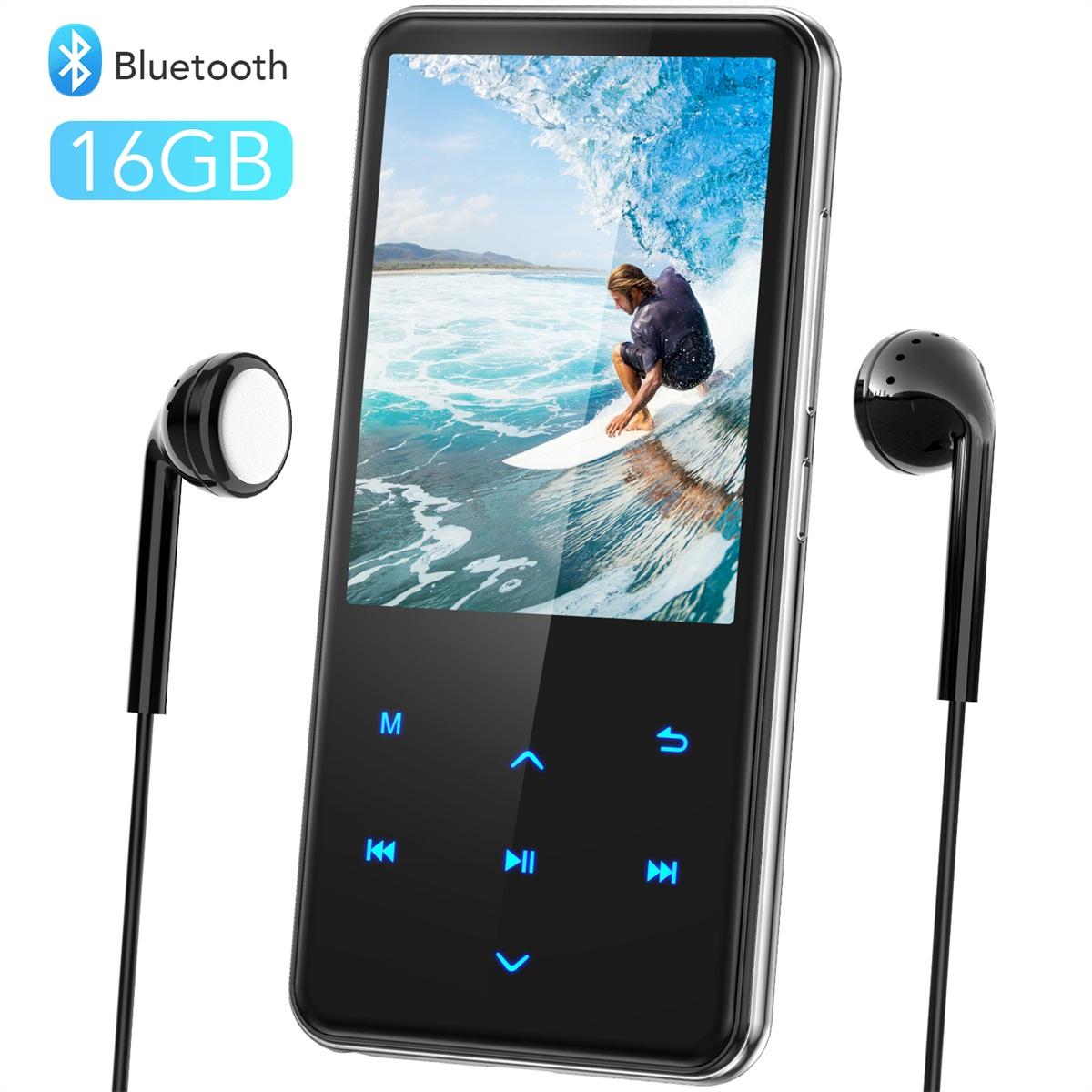 楽天市場】音楽プレーヤー MP3プレーヤー Bluetooth4.1 スピーカー搭載 ...
