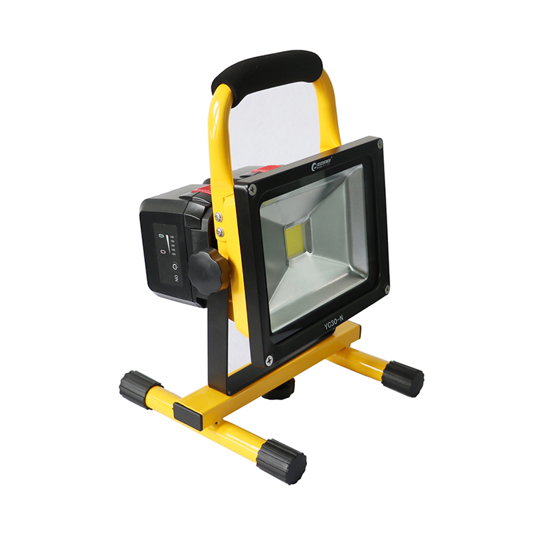 Led Floodlight Rechargeable 30 W 300 Equivalent Portable Floodlights And Work