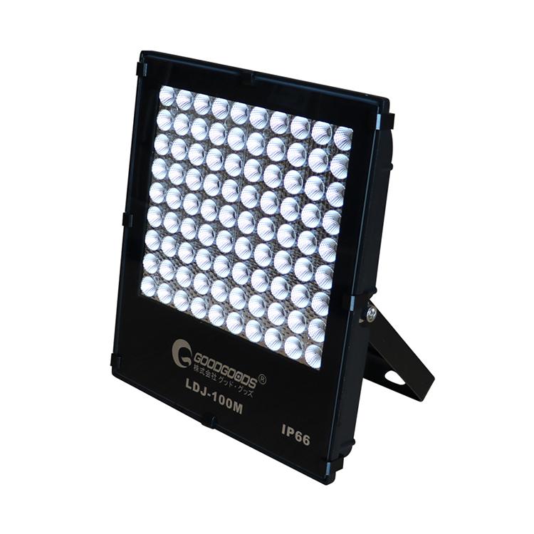 LED投光器 100W 狭角40°14040lm 屋外照明 スポットライト 防水 作業灯 夜間作業 一年保証 LEDライト 看板照明 演出照明 ワークライト 駐車場 屋内 アウトドア IP66 LDJ-100M