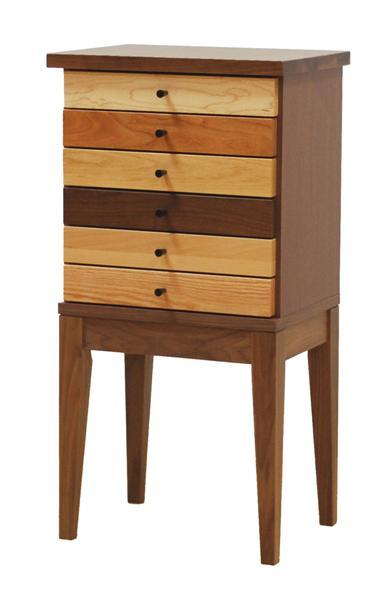 コンソールテーブル コンソールチェスト チェスト 40 6段 完成品 日本製 木製 おしゃれ リビング収納 家具 送料無料
