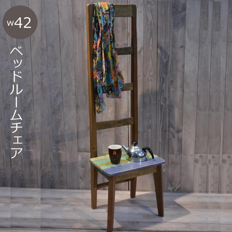 【送料無料(一部地域除く)】サイドテーブル ディスプレイテーブル W420 D360 H1370mm ベッドサイドテーブル アンティーク カントリー 家具 雑貨 おしゃれ飾り棚