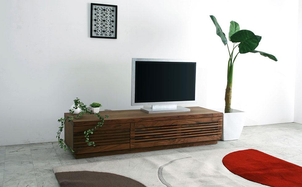 【送料無料(一部地域を除く)】【開梱設置無料】テレビボード 160 日本製 大川家具 完成品 天然木 木製 TVボード テレビ台 ローボード 高級家具