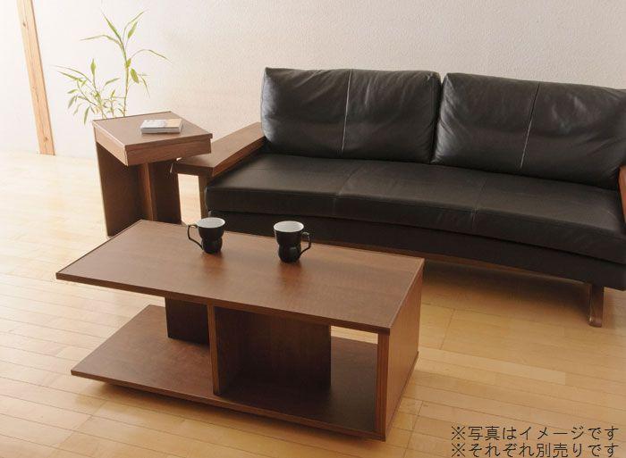 リビングテーブル ローテーブル センターテーブル キャスター付き 100 長方形 日本製 完成品 木製 無垢 ウォールナット オーク素材選択 おしゃれ 送料無料