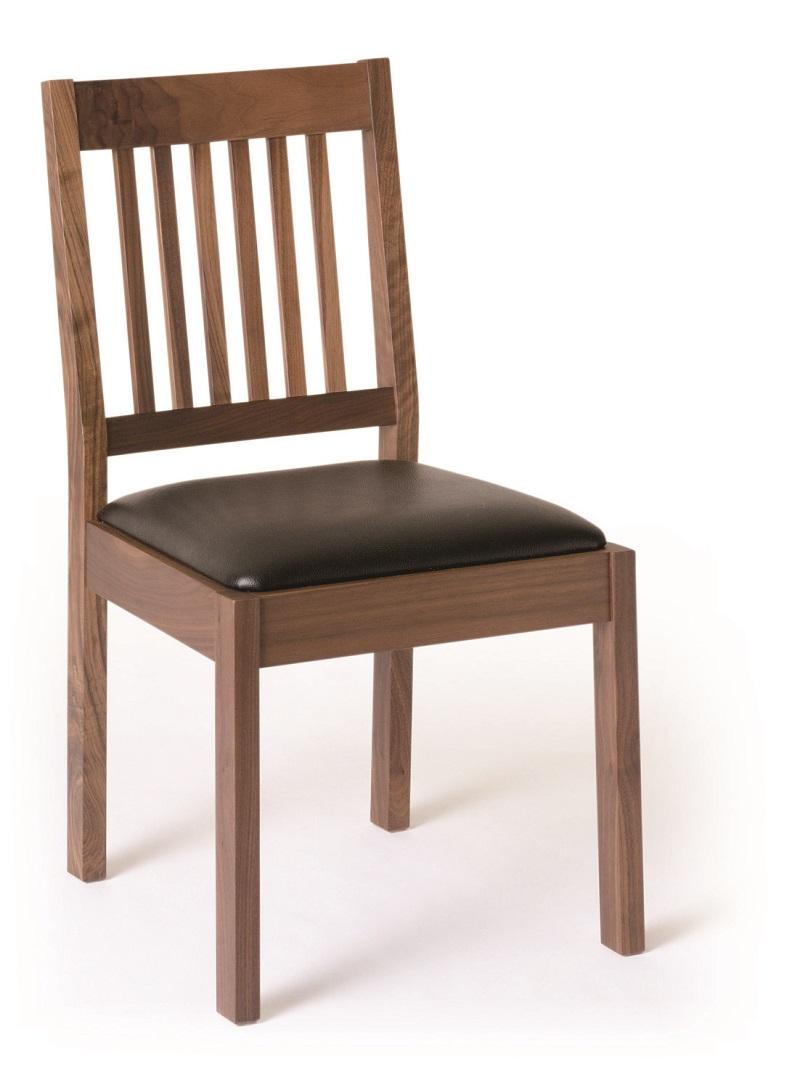ダイニングチェア 日本製 木製 天然木 無垢 7素材選択 おしゃれ 座面が選べる9素材 送料無料