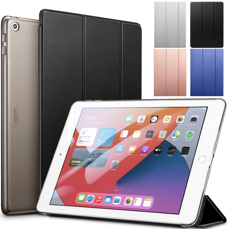 洗練された色彩 スリムフィット丁寧な仕上がり 長時間の使用に耐えられる 新作からSALEアイテム等お得な商品満載 ESR iPad 第8世代 ケース 2020 10.2 第7世代 2019 10.2インチ 薄型 スマートケース 三つ折りスタンド ウェイク 用 傷防止 オートスリープ 軽量 ハードカバー 好評受付中 半透明