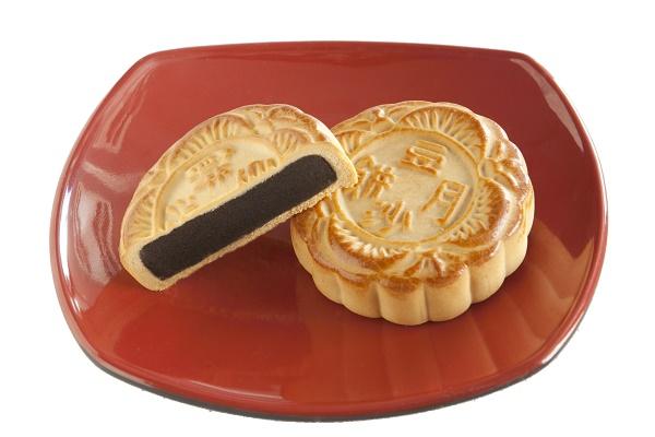 「横浜 お土産」重慶飯店「豆沙小月餅 」[お取り寄せ/手土産/お菓子/中華菓子]