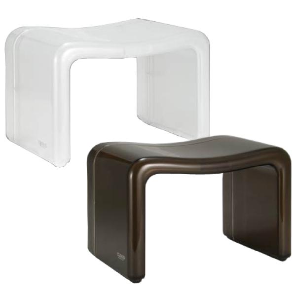 【送料無料】【●日本製】クラウド 高級バスツール デザイン バス スツール (風呂椅子) 全2色 cloud (※湯桶等別売り)【MX-Cd-】【W Br】