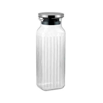 イワキ 保存 容器 サーバー ティーポット お茶 未使用 冷蔵庫 ボトル iwaki 耐熱ガラス 岩城ハウスウェア K296K-SV スクエアサーバー キッチン保管 記念日 ジャグ