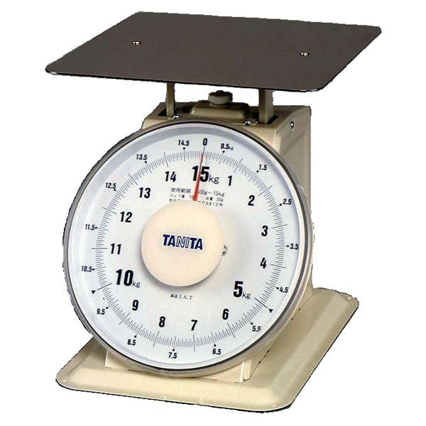【送料無料】【業務用】タニタ 上皿自動はかり ひょう量0.5~15.0kg 平皿(検定品)【2095】