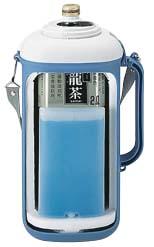 ペットボトルクーラー <保冷材付> 2.0リットル パープル
