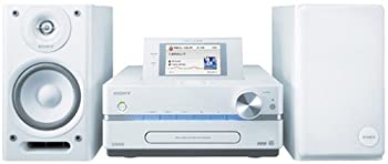 中古 SONY NETJUKE HDD 直営限定アウトレット 新商品 CD対応 ホワイト W NAS-D500HD ハードディスクコンポ HDD160GB