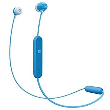 【中古】ソニー SONY ワイヤレスイヤホン WI-C300 : Bluetooth対応 最大8時間連続再生 マイク付き 2018年モデル ブルー WI-C300 L