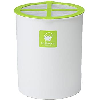 与え 中古 エコクリーン 家庭用 生ごみ処理器 カエル ル セール商品 基本セット グリーン
