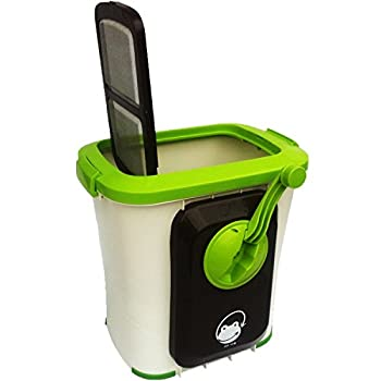中古 期間限定お試し価格 エコクリーン 家庭用 定番スタイル 生ごみ処理機 基本セット 自然にカエル 手動式 S