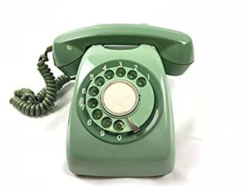 【中古】電電公社 600-A ダイヤル式電話機 (黒電話/カラー電話) (みどり)