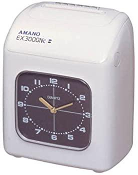中古 売店 アマノ 別倉庫からの配送 時刻記録 タイムレコーダー EX3000NC-W