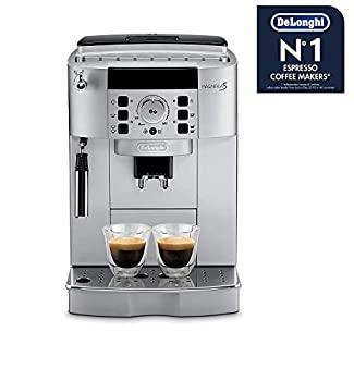 【中古】デロンギ全自動コーヒーマシン コンパクト全自動エスプレッソマシン マグニフィカS ECAM22110SBHN 全自動コーヒーメーカー業務用