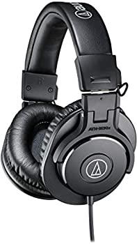 中古 audio-technica プロフェッショナルモニターヘッドホン レギュラー ATH-M30x ブラック 高級品 秀逸